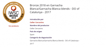 International Wine & Spirit Competition 2018